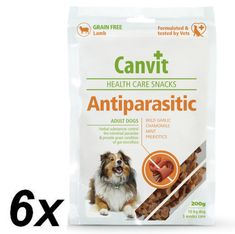 Canvit Anti-Parasitic Snack kutyáknak, 6 x 200 g