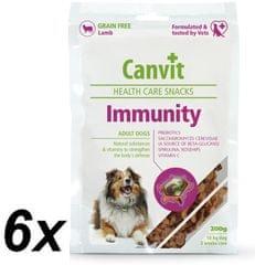 Canvit Immunity Snack Kutyáknak 6 x 200 g