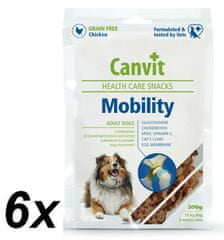 Canvit suplement diety dla psa Snacks Mobility - 6x 200 g