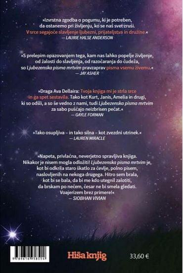 Ava Dellaira: Ljubezenska pisma mrtvim