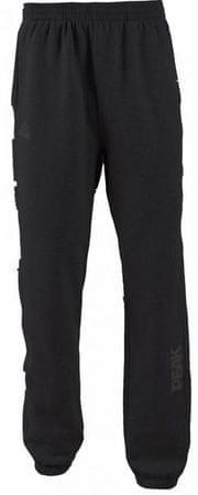 Peak hlače F3813, moške, črno-srebrne, XXXS
