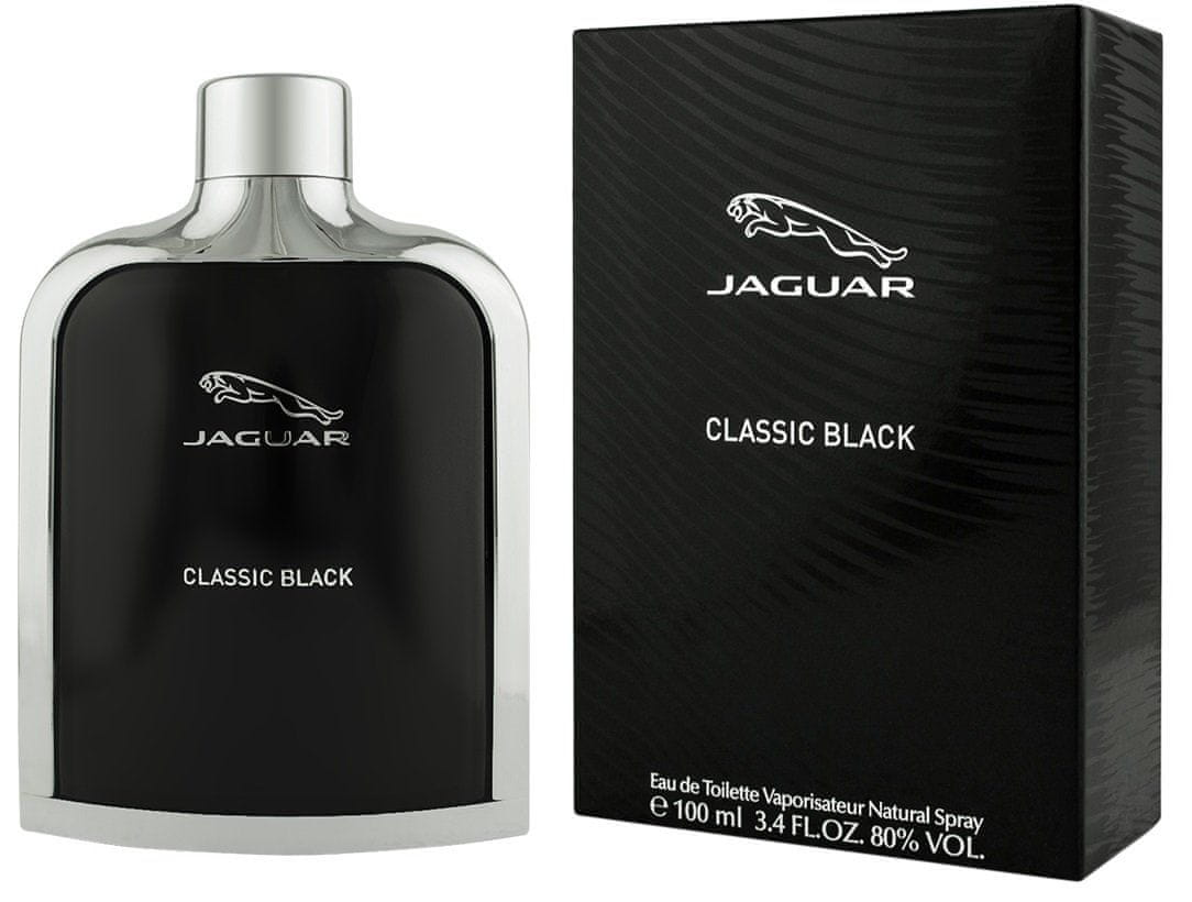 Jaguar Classic Black EDT - 100 ml, BEZPŁATNY ODBIÓR: WARSZAWA, WROCŁAW, KATOWICE, KRAKÓW!