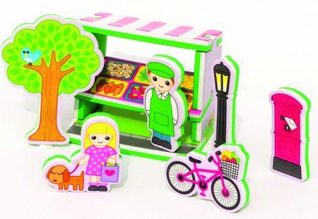 Meadow Kids Építs Piacot Fürdőjáték