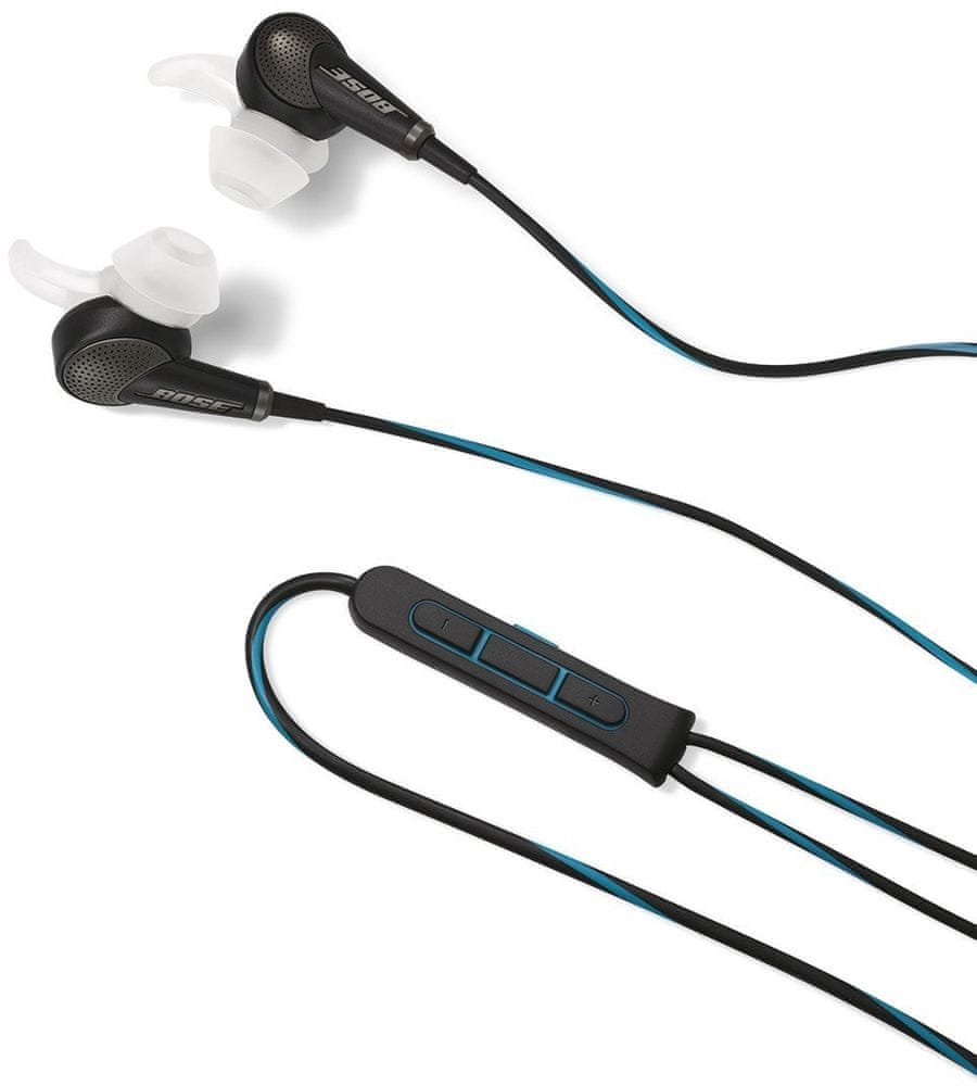 Bose QuietComfort 20 Apple sluchátka s mikrofonem (Black)