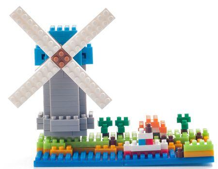 BRIXIES Větrný mlýn