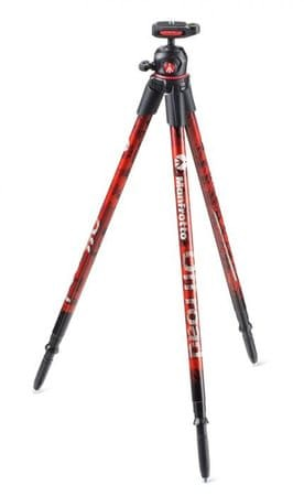 Manfrotto Off Road Stativ Red