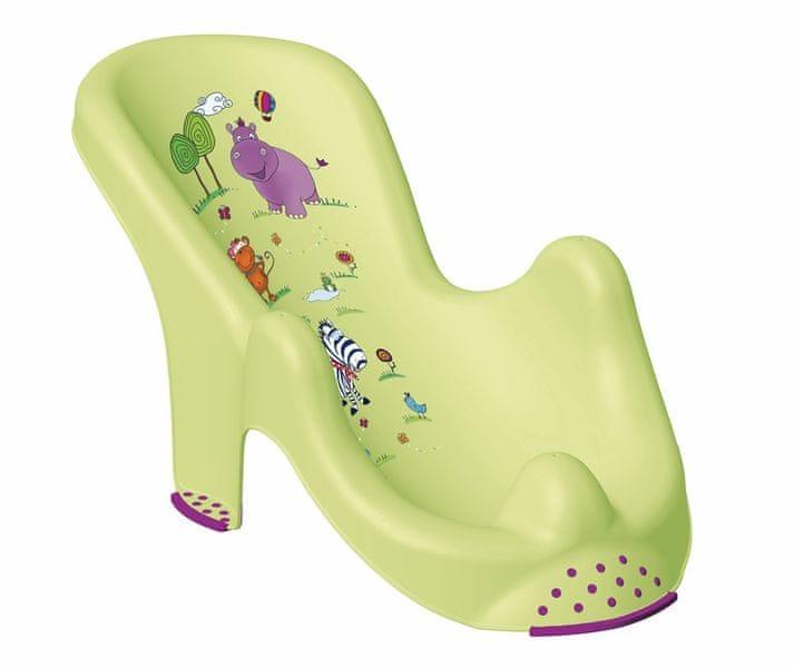 OKT Lehátko do vany Hippo, zelená