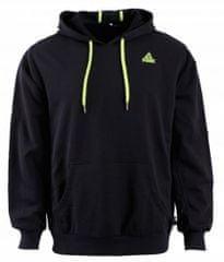 Peak pulover s kapuco F6805, črn