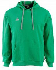 Peak pulover s kapuco F6805, zelen