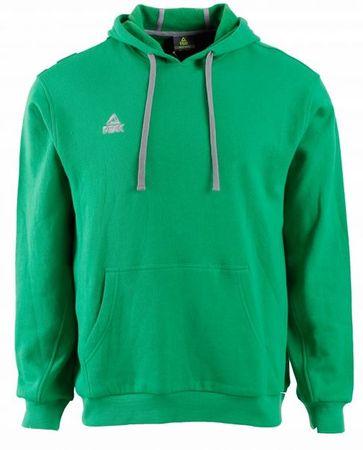 Peak pulover s kapuco F6805, zelen, M