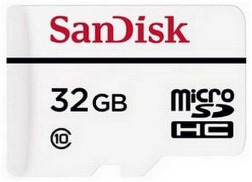 SanDisk microSDHC 32GB (class 10) High Endurance 20MB/s + adaptér (SDSDQQ-032G-G46A)