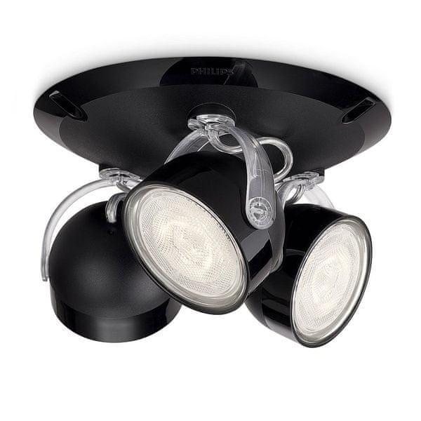 Philips Stropní svítidlo Dyna černá