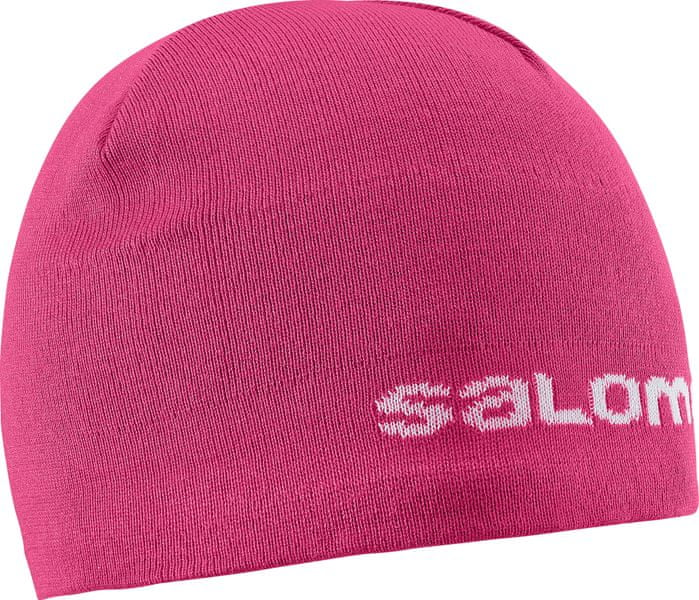 Salomon Beanie Hot Pink