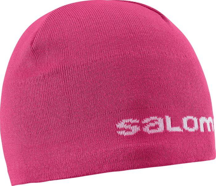 Salomon Beanie Hot Pink