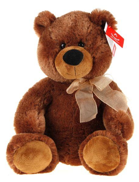 Alltoys Medvěd plyšový sedící 48cm