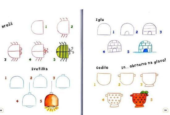 Rosa M.Curto: Risanje z 8 preprostimi liki