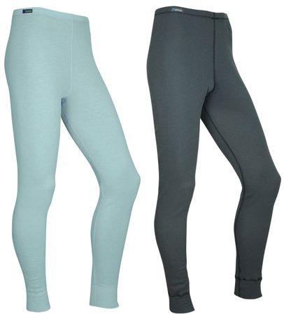 ODLO hlače Warm Multipack, ženske, 2 kosa, modre/sive, L