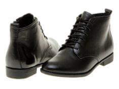 s.Oliver dámská kožená kotníčková obuv