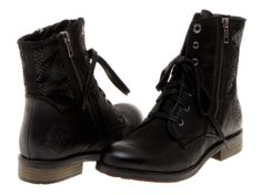 s.Oliver polokožená dámská kotníčková obuv