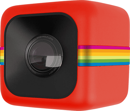 POLAROID Cube+ Red