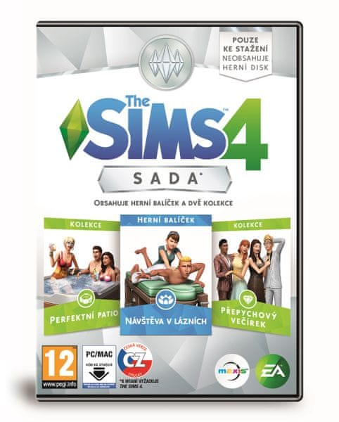 EA Games The Sims 4 Bundle Pack 1 / PC