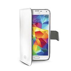 Celly Pouzdro Wally, Samsung Galaxy S5 mini, bílé