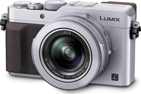 Panasonic Lumix DMC-LX100EP srebrny