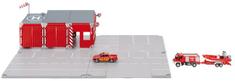 SIKU World: zestaw straży pożarnej 16 elementów. 5502