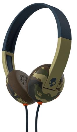 Skullcandy Uproar s mikrofonem, camouflage
