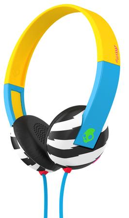 Skullcandy słuchawki Uproar, żółty/niebieski