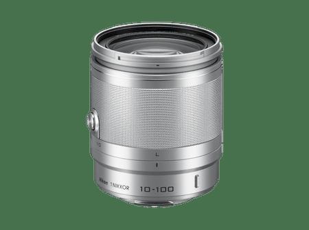 Nikon objektiv 10-100mm VR/4-5,6, srebrn
