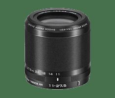 Nikon objektiv 1 Nikkor 11-27,5 mm, črn