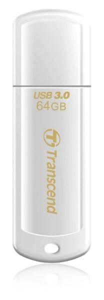 Transcend JetFlash 730 64GB bílý (TS64GJF730)