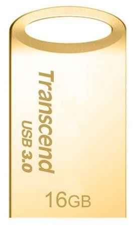 Transcend USB disk JetFlash 710 16 GB, zlat