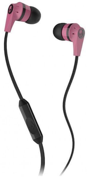 Skullcandy INK'D 2.0 s mikrofonem, růžová/černá