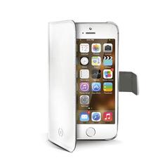 Celly Pouzdro Wally, Apple iPhone 5/5S, bílé