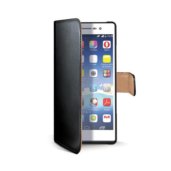 Celly Pouzdro Wally, Microsoft Lumia 640 / 640 Dual SIM, černé
