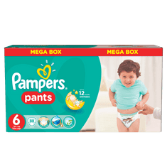 Pampers Pieluchomajtki Active Baby Pants Extra Large - Mega Box (88 szt.)