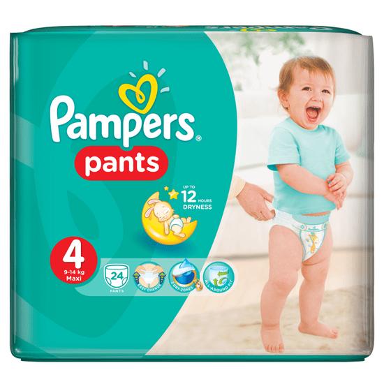 Pampers Pieluchomajtki Pants 4 (9-15 kg) Carry Pack 24 szt.
