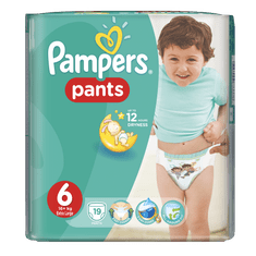 Pampers Active Baby Pants Extra Large (19 szt.)