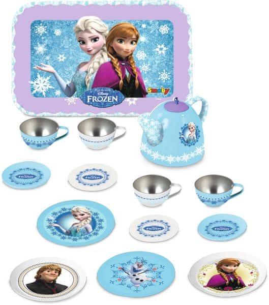 Smoby Ledové království čajový set kovový