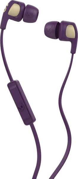 Skullcandy Smokin Buds 2.0 s mikrofonem, purpurová