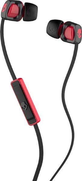Skullcandy Smokin Buds 2.0 s mikrofonem, černá/červená