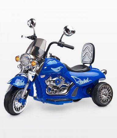 Caretero Motocykl na akumulator Rebel, Blue