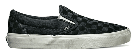 Vans U Classic Slip-On (Overwashed) Black 45