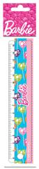 PVC ravnilo Barbie 11-0929