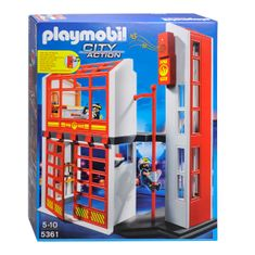 Playmobil 5361 Tűzoltó-parancsnokság riasztásjelzővel