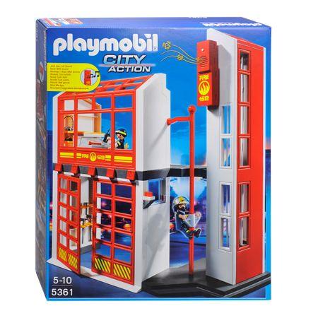 Playmobil 5361 Gasilska postaja z alarmom