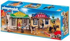 Playmobil 4398 Hordozható western város