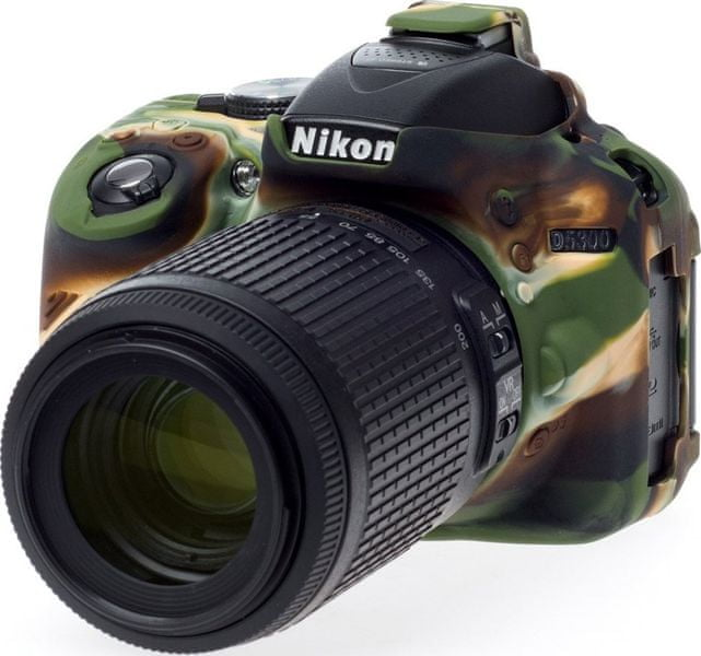 Easycover Reflex Silic Nikon D5300 Camouflage